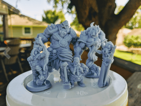 Best Resin 3D Printers for Miniatures