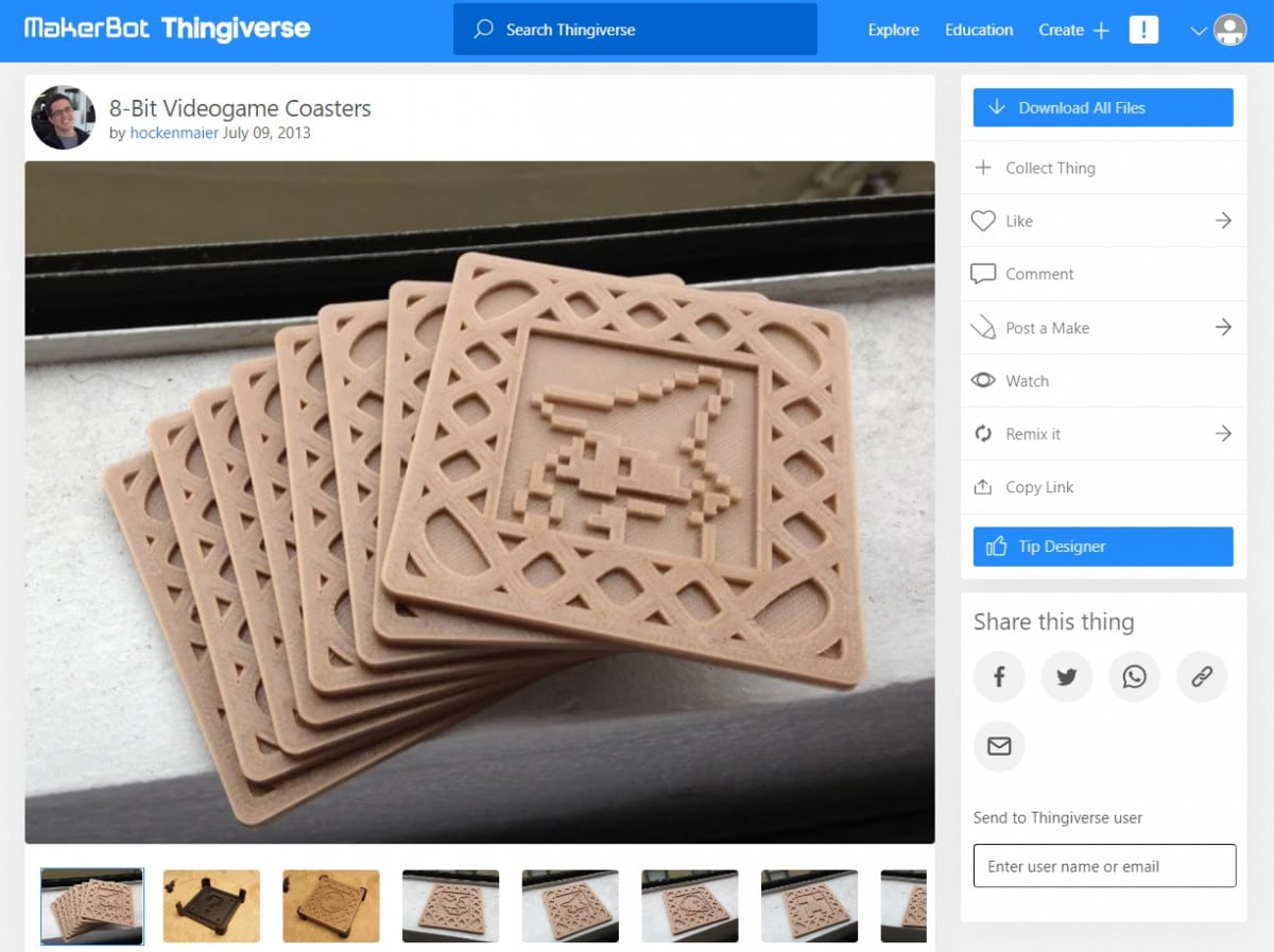30 Cool Things to 3D Print for Gamers – Accessories & More